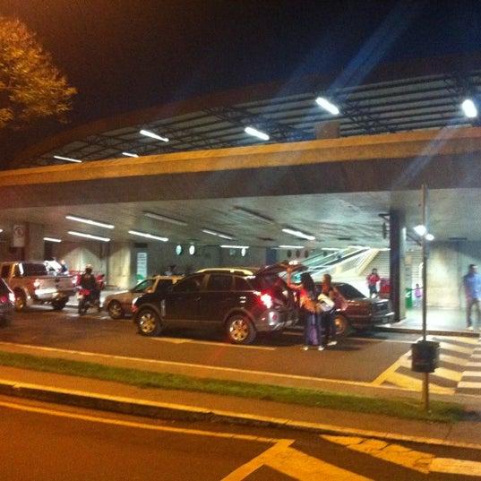 Photo taken at Terminal Rodoviário José Garcia Villar by Caco P. on 4/27/2012