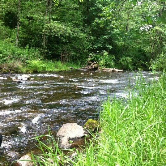 Photo taken at Wahclella Falls Trail by Dan on 6/13/2012