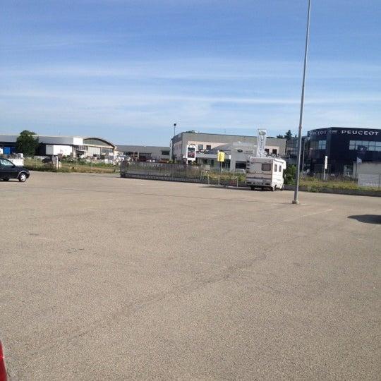 Photo taken at Parcheggio Via Sassonia by Namer M. on 6/14/2012