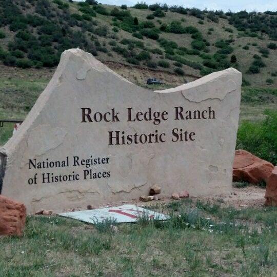 Rock Ledge Ranch Historic Site Rock Ledge Ranch - His...