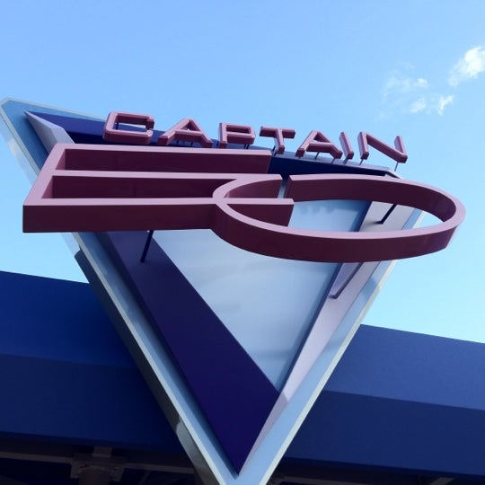 Photo taken at Captain EO by Stephen C. on 3/13/2012