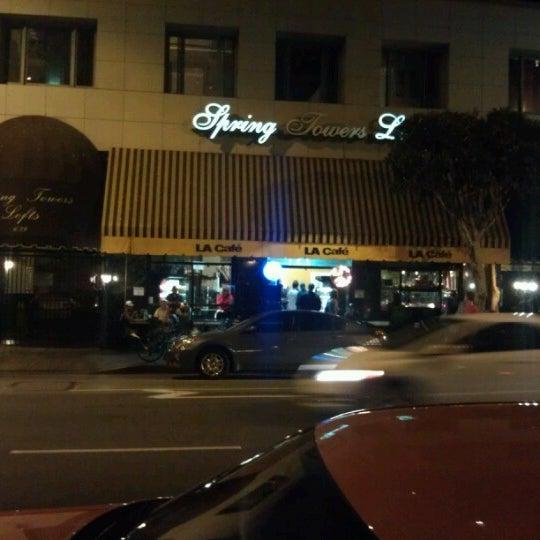 Photo taken at LA Café by Mikee B. on 7/1/2012
