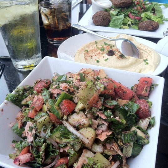 Must try the fattoush! The chef sneaks in some zaatar and it makes it amazing!