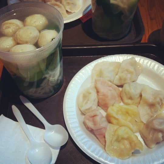 Photo taken at Vanessa's Dumpling House by Nathan R. on 2/21/2012