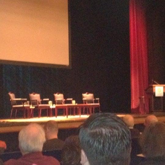 Photo taken at Lisner Auditorium by Chris A. on 2/15/2012