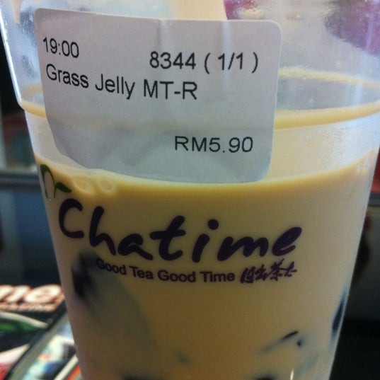 Photo taken at Chatime by Anson T. on 3/28/2012