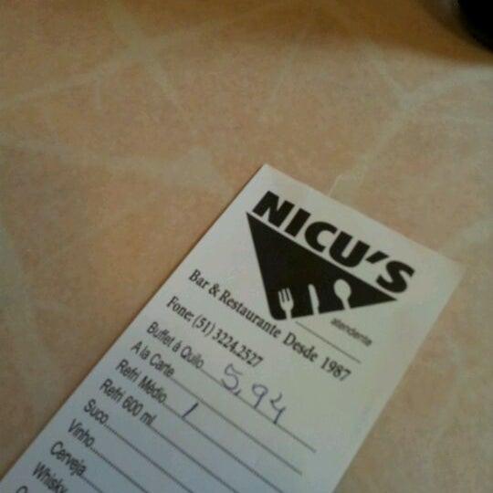 Photo taken at Nicu's by Vitor C. on 5/28/2012