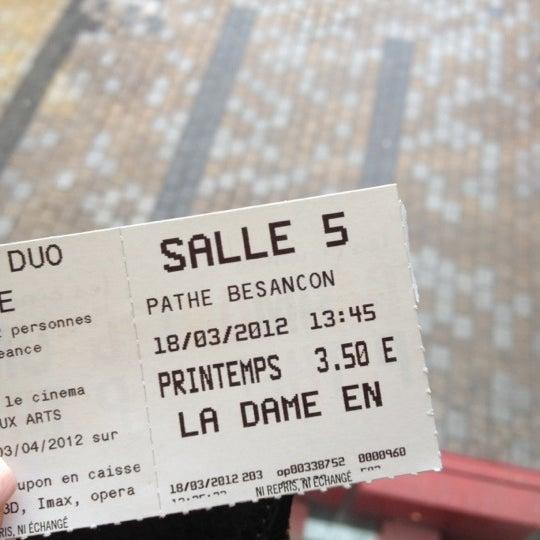 Photo taken at Pathé Beaux-arts by Natacha H. on 3/18/2012
