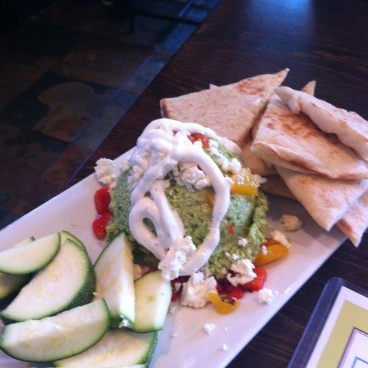 Photo taken at MOSAIC Restaurant Charleston by Ali R. on 5/28/2012