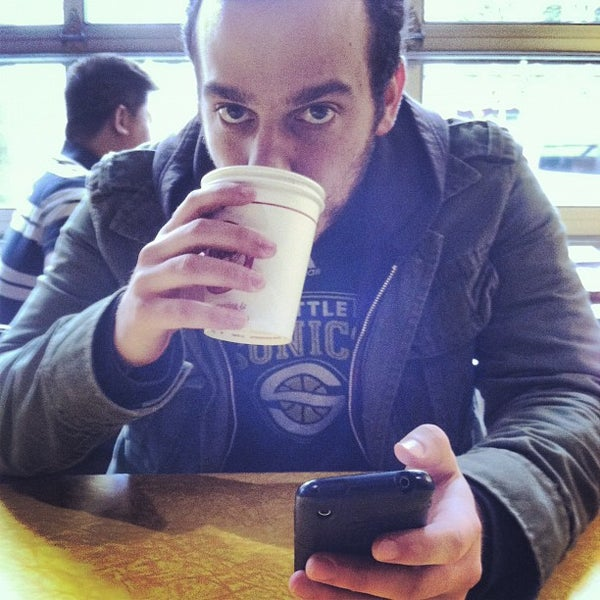 Photo taken at Espresso Vivace by Albert A. on 3/24/2012