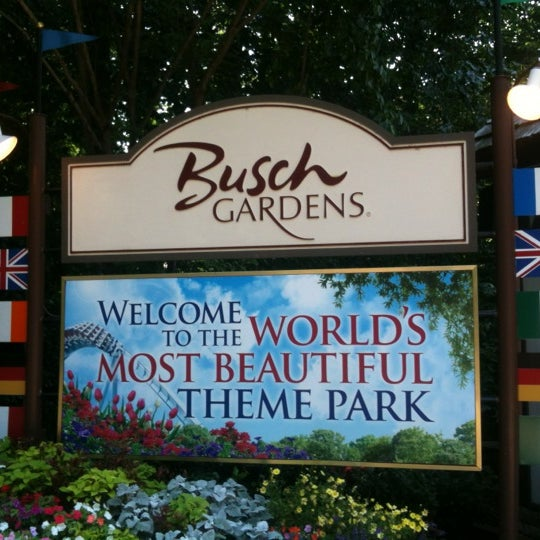 Photo taken at Busch Gardens Williamsburg by J S. on 7/18/2012