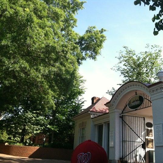 Photo taken at George Washington's Mount Vernon by Liz M. on 5/19/2012