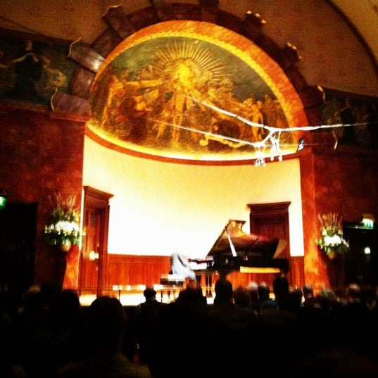 Photo taken at Wigmore Hall by meaghan c. on 3/19/2012