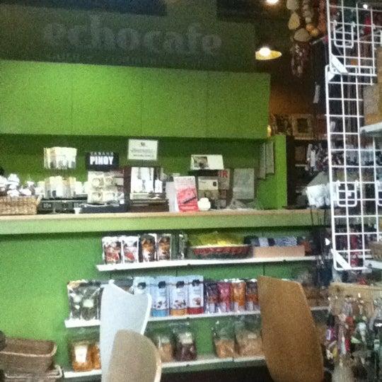 Photo taken at ECHOcafé by Misha P. on 4/22/2012