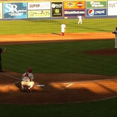 Das Foto wurde bei Spokane Indians Diamond Club von Chuck J. am 7/30/2012 aufgenommen