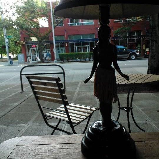 Photo taken at Uptown Espresso by Simon B. on 6/24/2012