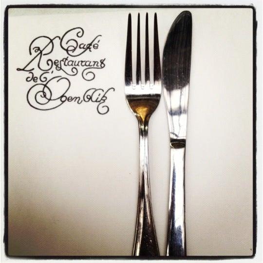 Photo prise au Restaurant de l'Ogenblik par Francisco G. le6/28/2012
