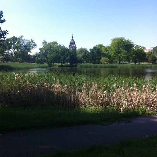 Photo taken at Loring Park by Heidi W. on 5/16/2012