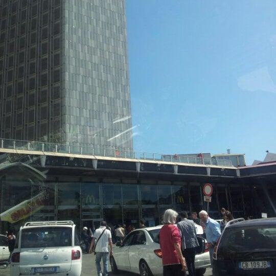Photo taken at Napoli Centrale Railway Station (INP) by Takieddine E. on 5/4/2012