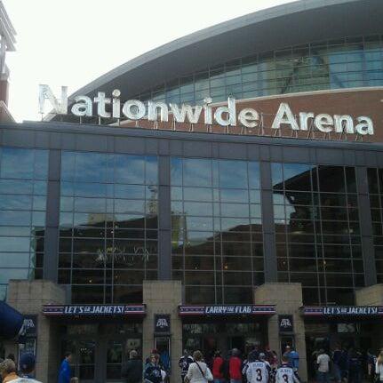 Photo taken at Nationwide Arena by Nik P. on 3/11/2012