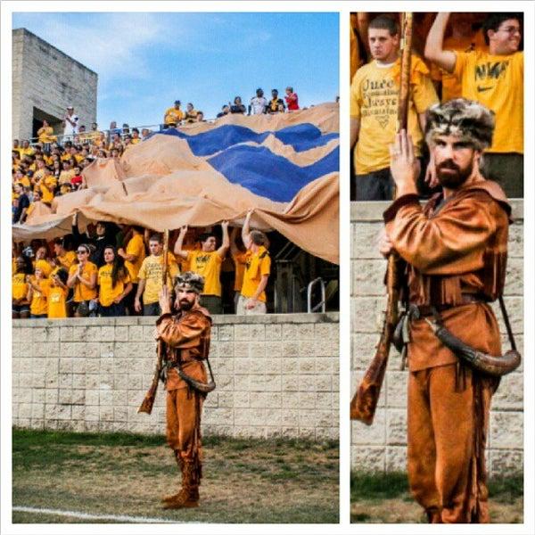 Photo taken at Dick Dlesk Soccer Stadium by Matt S. on 9/1/2012