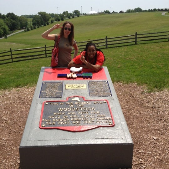 Photo taken at Woodstock Festival Concert Site/Monument by Richeé B. on 5/27/2012