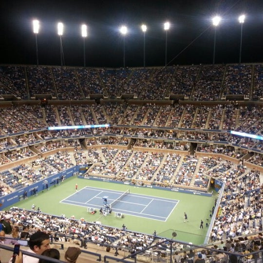Photo taken at US Open Tennis Championships by Kino on 8/30/2012