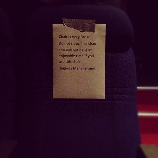 Photo taken at Balmoral Cineplex by Evan T. on 2/4/2012