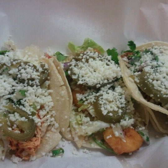 Photo taken at Felipe's Mexican Taqueria by Andy K. on 5/8/2012