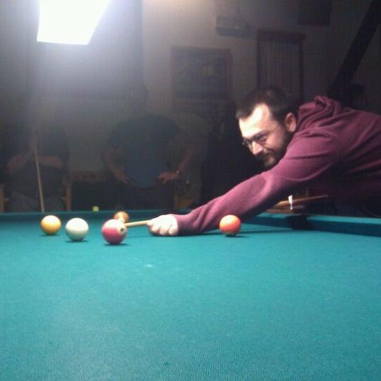 Photo taken at Biljardna hiša by Loisaida Sam S. on 3/1/2012