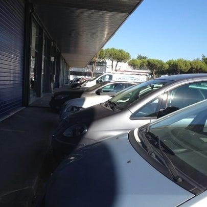 Photo taken at Parcheggio Via Sassonia by Namer M. on 7/18/2012