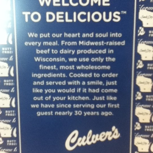 Photo taken at Culver's by Lizzy on 8/10/2012