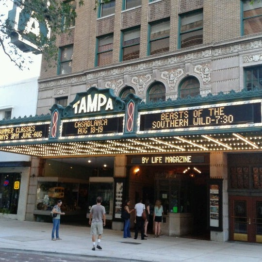 Photo taken at Tampa Theatre by Phil H. on 7/27/2012