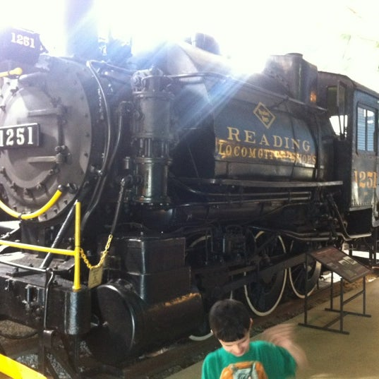 Photo taken at Railroad Museum of Pennsylvania by Steve R. on 3/18/2012
