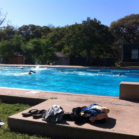 Photo taken at Big Stacy Pool by Patrick R. on 3/22/2012