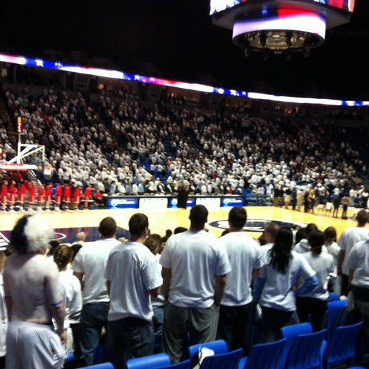 Photo taken at Bryce Jordan Center by Vicki P. on 2/20/2012