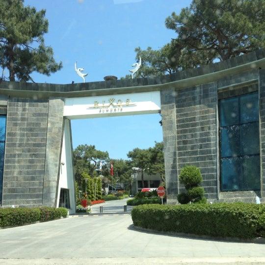 5/8/2012 tarihinde O.ziyaretçi tarafından Rixos Sungate'de çekilen fotoğraf