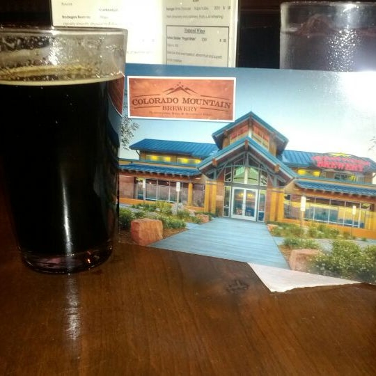 Photo taken at Colorado Mountain Brewery by Robert on 3/5/2012