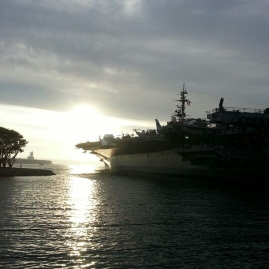 Photo taken at USS Midway Museum by Adrienne S. on 8/16/2012