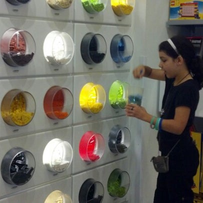 Photo taken at The LEGO Store by Jeannie J. on 9/3/2012