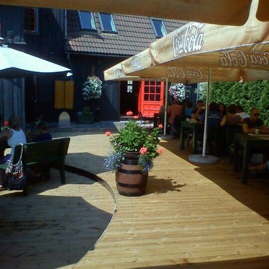 Photo taken at Pastnieka māja by Jana Š. on 7/28/2012