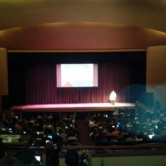 Photo taken at Lisner Auditorium by Giorgio I. on 7/14/2012