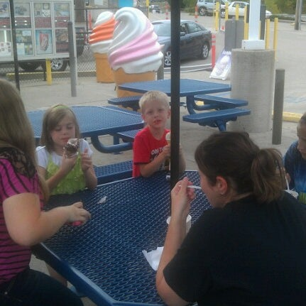 Photo taken at The Cone by TL J. on 8/31/2012