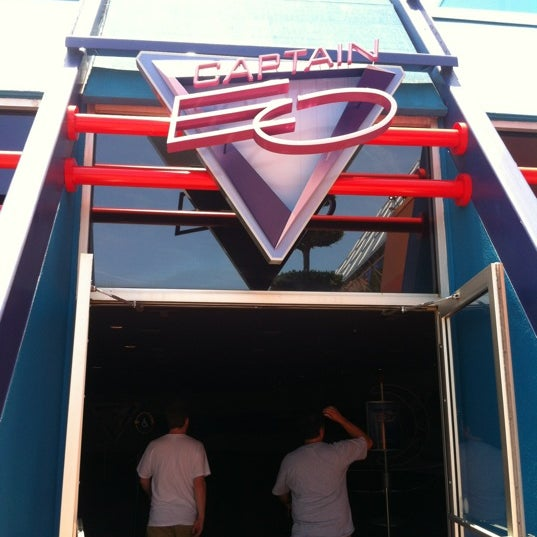 Photo taken at Captain EO by Simon W. on 6/3/2012