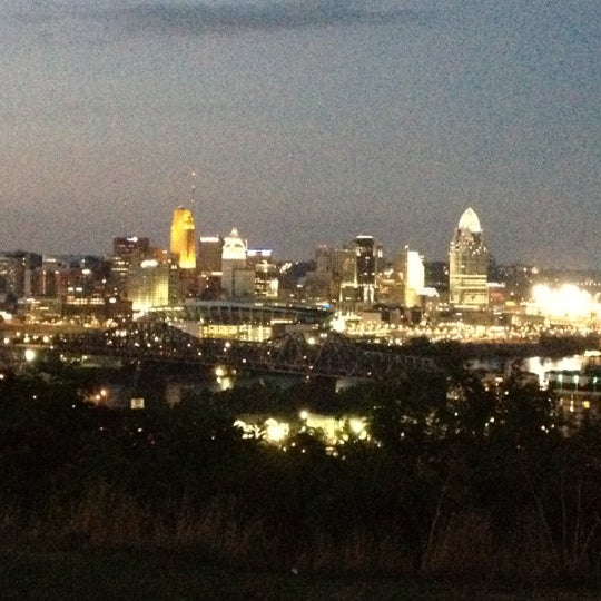 Photo taken at Devou Overlook by Brian W. on 8/4/2012
