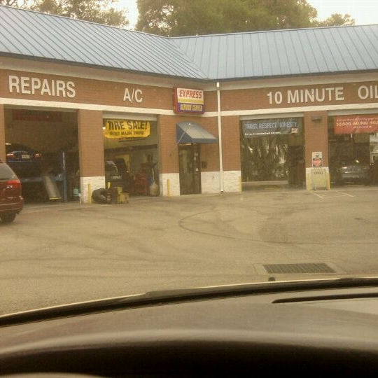 express oil change tire engineers automotive shop  bloomingdale ridge