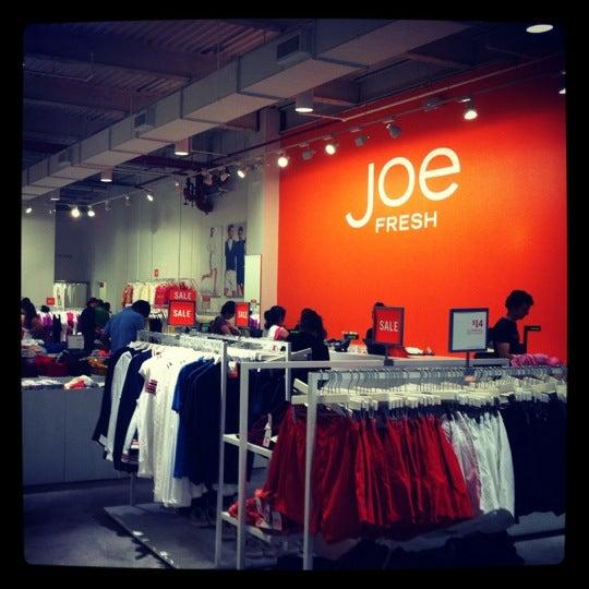 Photo taken at Joe Fresh by Jon L. on 8/9/2012