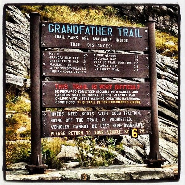 Photo taken at Grandfather Mountain by Brandon P. on 8/19/2012