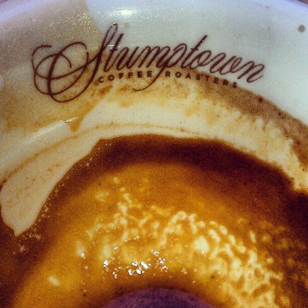 Photo taken at Stumptown Coffee Roasters by David C. on 5/15/2012