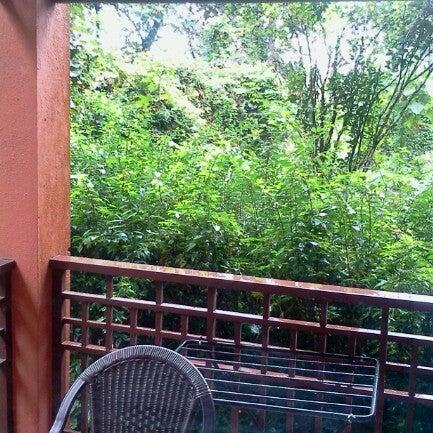Photo taken at Club Mahindra Madikeri by Shriram S. on 7/29/2012